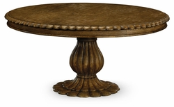 "530042-65D-KTO Jonathan Charles Fine Furniture William Yeoward Collected - Country House Chic 65"" Havelock Kitchen Oak Table"