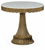 530046-WAO Jonathan Charles Fine Furniture William Yeoward Collected - Country House Chic Dalkeith Washed Oak Table