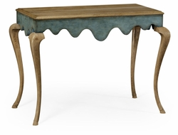 530047-WAO Jonathan Charles Fine Furniture William Yeoward Collected - Country House Chic Maran Washed Oak Console