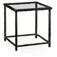 530058-B Jonathan Charles Fine Furniture William Yeoward Collected - Country House Chic Keswick Antique Bronze End Table