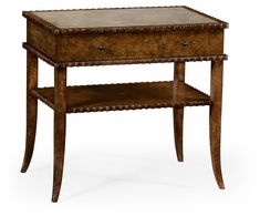 530064-BUS Jonathan Charles Fine Furniture William Yeoward Collected - Urban Cool Huxley Burl End Table