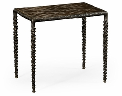 530085-BRO Jonathan Charles Fine Furniture William Yeoward Collected - Urban Cool Small Delamere Bronze Table