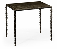 530086-BRO Jonathan Charles Fine Furniture William Yeoward Collected - Urban Cool Large Delamere Bronze Table