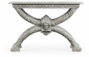 530097-WWO Jonathan Charles Fine Furniture William Yeoward Collected - Country House Chic Saragosa White Oak Table