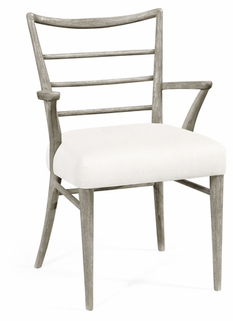 530143-AC-GYO-FCOM Jonathan Charles William Yeoward Collected - Urban Cool The Pensacola Dining Armchair In Com