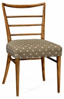 530143-SC-GFA Jonathan Charles Fine Furniture William Yeoward Collected - Urban Cool Pensacola Grey Fruitwood Dining Side Chair