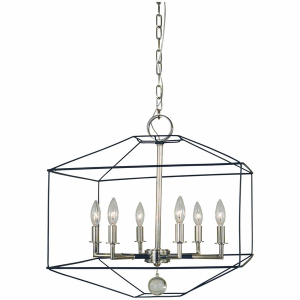 5306 Framburg Isabella 6 Light Dining Chandelier