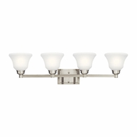5391NI Kichler Transitional Wall Mount 4 Arm Bath 4Lt