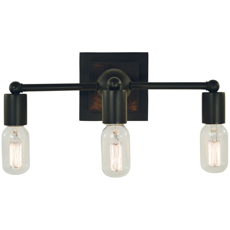 5403 Framburg Modern Farmhouse 3 Light Bath and Sconce