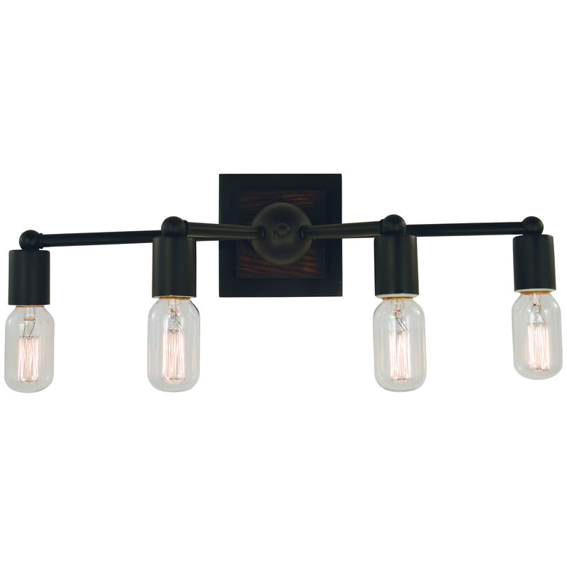 5404 Framburg Modern Farmhouse 4 Light Bath and Sconce