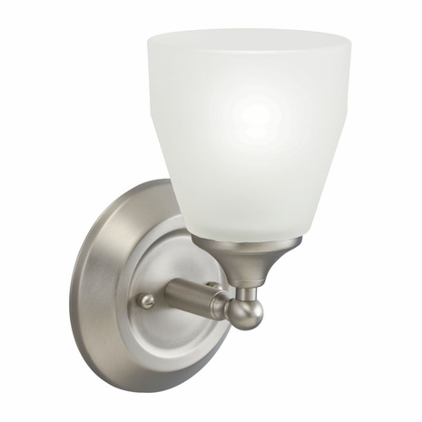 5446NI Kichler Contemporary Wall Sconce 1Lt Brushed Nickel