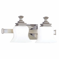 5502 Hudson Valley Wilton 2 Light Bath Bracket