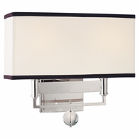 5642 Hudson Valley Gresham Park 2 Light Wall Sconce
