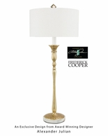65067 Frederick Cooper Brass Antique Gisele II Lamp