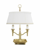 65138 Frederick Cooper Brass Antique Bartemius Lamp