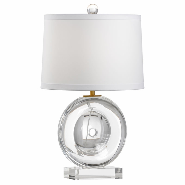 65669 Frederick Cooper Crystal Clear Deluca Lamp