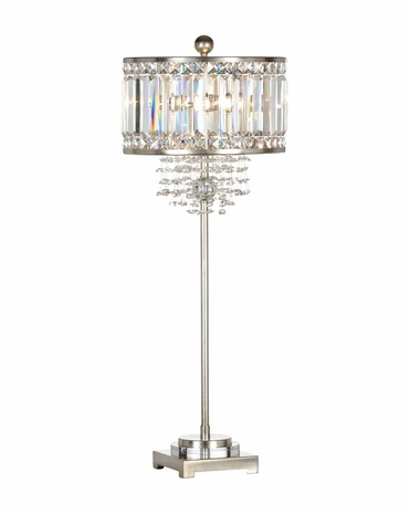 66805 Frederick Cooper Metal Silver Leaf Luxe Lamp
