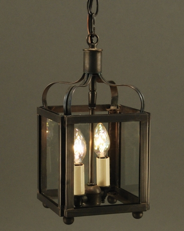 6702 Northeast Lantern Crown (2) Light Candelabra Hanging Fixture With Multiple Glass & Finish Options
