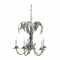 69210 Chelsea House Bradshaw Orrell IVory Gold With White Wash Bamboo Grove Chandelier-Gray