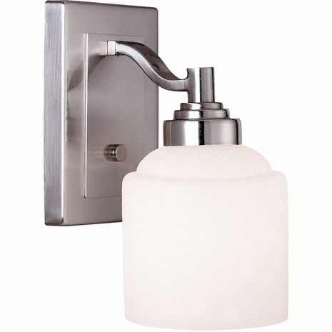 8-4658-1-69 Savoy House Mission Wilmont 1 Light Bath Bar with Pewter Finish