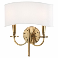 8022 Hudson Valley Mason 2 Light Wall Sconce
