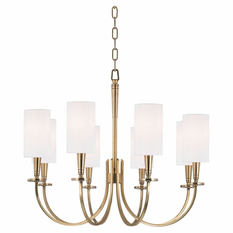8028 Hudson Valley Mason 8 Light Chandelier