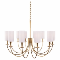 8032 Hudson Valley Mason 12 Light Chandelier