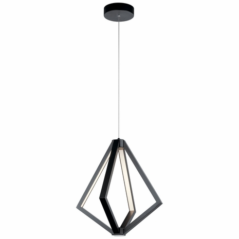 84091 Elan Contemporary 1 Tier Small Chandelier 4Lt LED