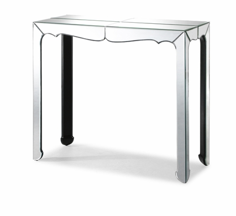 850024 Zuo Modern Vive Console Table in Clear Finish