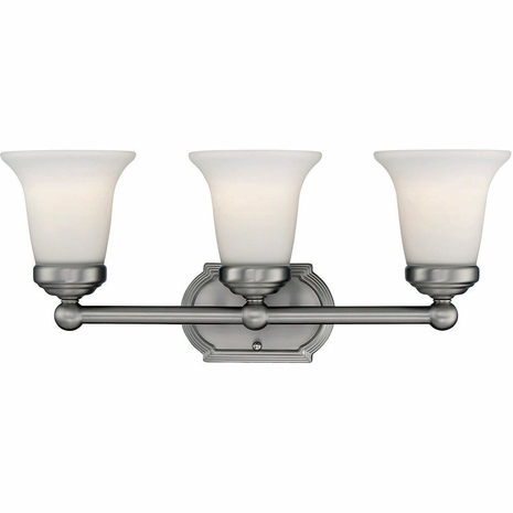 8P-60500-3-69 Savoy House Traditional Brannon 2 Light Bath Bar with Pewter Finish