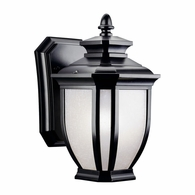 9039BK Kichler Traditional - Small Outdoor Wall 1Lt