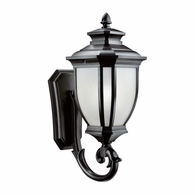 9042BK Kichler Traditional - XLarge Outdoor Wall 1Lt