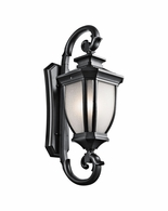 9099BK Kichler Fixtures Traditional Black Outdoor Wall 4Lt