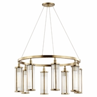 9130 Hudson Valley Marley 8 Light Pendant