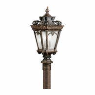 9559LD Kichler Traditional Lantern Outdoor Post Mount 4Lt
