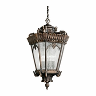 9564LD Kichler Traditional Outdoor Hanging Pendant 4Lt