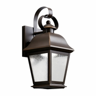 9707OZLED Kichler Fixtures Traditional Olde Bronze Outdoor Wall 1Lt LED