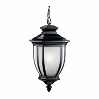 9843BK Kichler Traditional Outdoor Hanging Pendant 1Lt