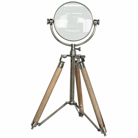 AC040 Authentic Models Magnifying Glass on Tripod