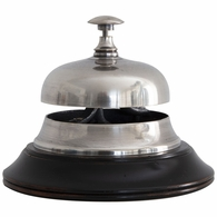 AC100S Authentic Models Sailor's Inn Desk Bell, Silver
