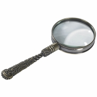 AC113 Authentic Models Rococo Magnifier, Bronze