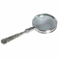 AC114 Authentic Models Rococo Magnifier, Silver