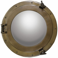 AC188A Authentic Models Cabin Porthole Mirror, Medium