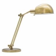 AD450-AB House of Troy Addison Adjustable Antique Brass Pharmacy Desk Lamp