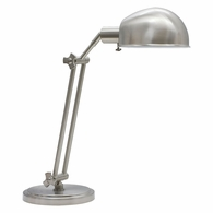 AD450-SN House of Troy Addison Adjustable Satin Nickel Pharmacy Desk Lamp