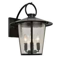 AND-9202-SD-MK Crystorama Andover Outdoor 4 Light Matte Black Wall Mount
