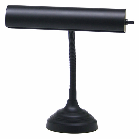 "AP10-20-7 House of Troy Advent 10"" Black Piano/Desk Lamp"