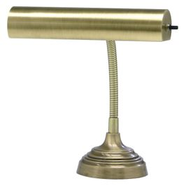 """AP10-20-71 House of Troy Advent 10"""" Antique Brass Piano/Desk Lamp"""