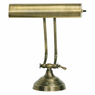 "AP10-21-71 House of Troy Advent 10"" Antique Brass Piano/Desk Lamp"