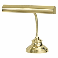 "AP14-40-61 House of Troy Advent 14"" Polished Brass Piano/Desk Lamp"